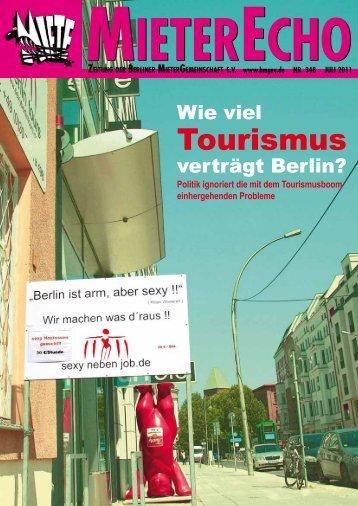 MieterEcho Nr.348 Juli 2011 - Berliner MieterGemeinschaft eV