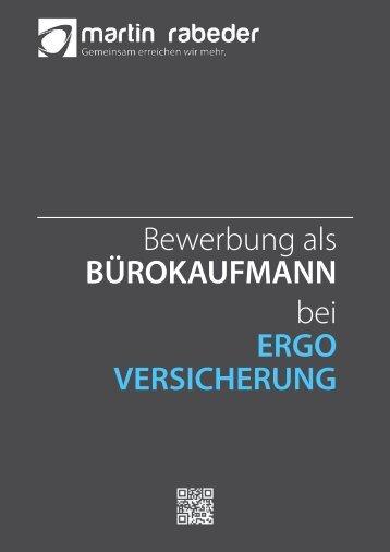 Bewerbung als BÜROKAUFMANN bei ERGO VERSICHERUNG