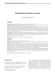 Traumatismos oculares en niños - Revista Mexicana de Oftalmología