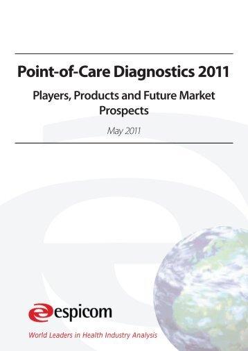 Point-of-Care Diagnostics 2011 - Espicom