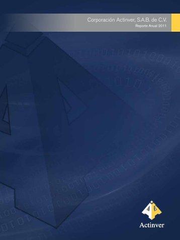 Reporte Anual 2011 - Actinver