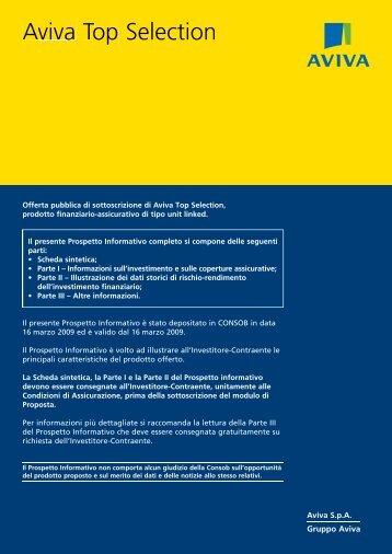 Prospetto Informativo - Aviva
