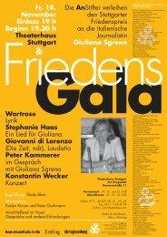 Fr, 18. November Einlass 19 h Beginn 19.30 h Theaterhaus Stuttgart ...