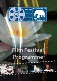 Bangkok Film Program 2009 - Burnet Institute