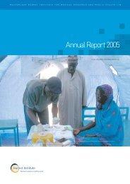 2005 Annual Report - Burnet Institute