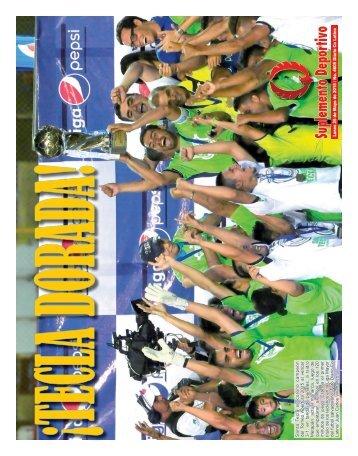 Suplemento Deportivo 25 de Mayo de 2015