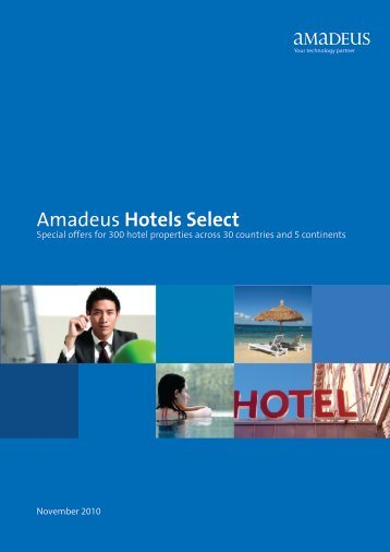 to see Amadeus Hotels Select November - Amadeus India