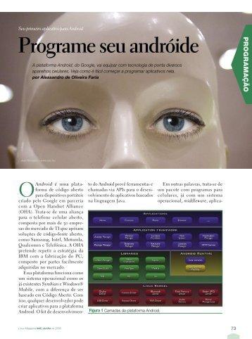 Programe seu andróide