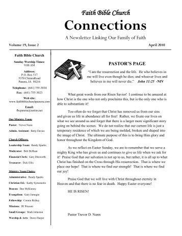 Faith Bible Church Connections - vCHURCHES