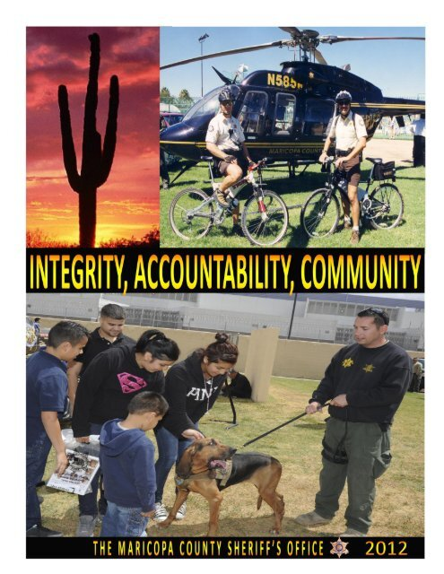 THE MARICOPA COUNTY SHERIFF'S OFFICE