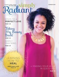 Simply Radiant Magazine: Summer