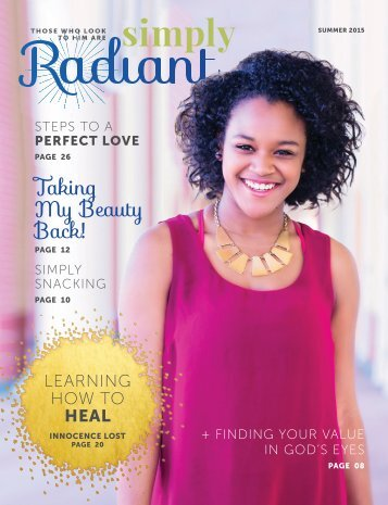 Simply Radiant Magazine, Summer 2015