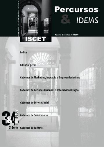 Percursos & Ideias - ISCET