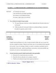 Clase VIII- Prevención de la Depresión - UCSF School of Medicine
