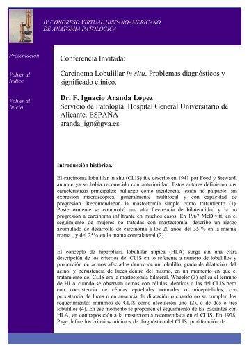 Dr. F. Ignacio Aranda López - V Congreso Virtual ...