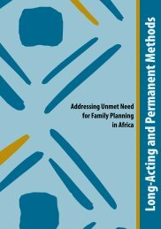 Long-Acting and Permanent Methods - Family Health International