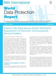 Report - Privacy and Information Security Law Blog