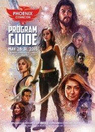 Phoenix Comicon 2015 Program Guide