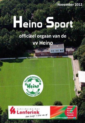 November 2012 - Heino