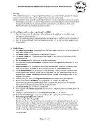 Notulen vergadering jeugdleiders en jeugdtrainers vv Heino 03-09 ...