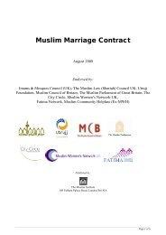 Muslim Marriage Contract - Lapido Media