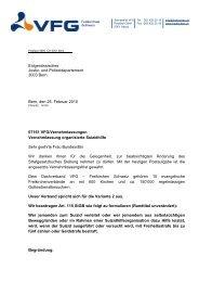 Vernehmlassung vom 25 02 2010 - Verband Evangelischer ...