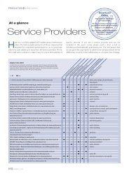 Download Market Survey Service Providers - COSSMA