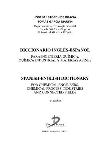 diccionario inglés-español spanish-english dictionary - Díaz de Santos