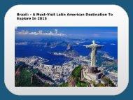 Visit Latin American Destination