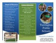 Birth to Graduation Information - Torrington Public Schools