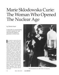 Marie Sklodowska Curie - 21st Century Home  Page