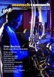 Berichte + Publikationen Eine Auswahl - Helmholtz Zentrum München