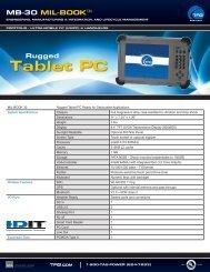 TAG Portfolio: MB-30 MIL-BOOK Datasheet - TAG.com