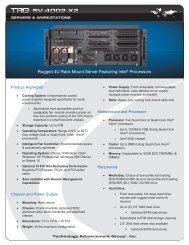 Rugged 4U Rack Mount Server - TAG.com