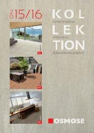 Osmose Fliesenkollektion 2015/16