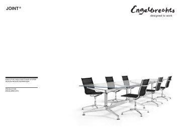 Engelbrechts JOINT Stuhl-und Tischsysteme