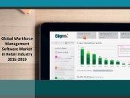 Global Workforce Management Software Market in Retail Industry 2015-2019