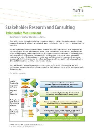 stakeholder research paper Navbar 4 resource papers in action research stakeholder analysis this is a resource file which supports the regular public program areol (action research and evaluation on line) offered twice a year beginning in mid-february and mid- july for details email bob dick bdick@scueduau or bd@uqnetau in which a.