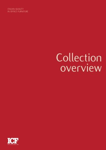 ICF Collection overview Katalog