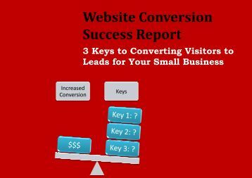 Website Conversio Success Report Website ... - mimosaPLANET