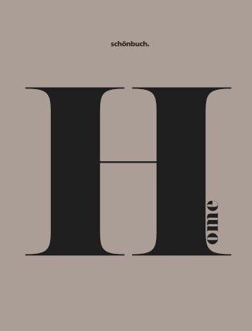 Schönbuch Home Katalog