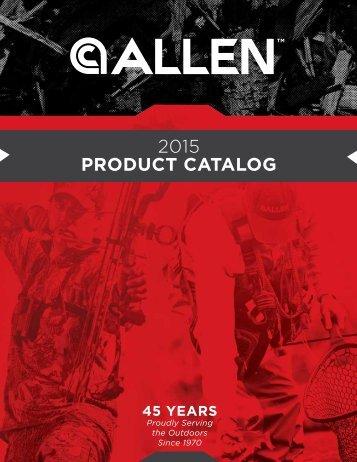 2015 PRODUCT CATALOG