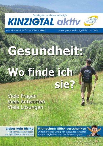 Kinzigtal Aktiv 3/2014