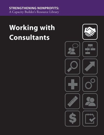 Working with Consultants - Strengthening Nonprofits