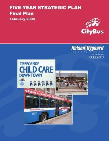 Strategic Plan - CityBus
