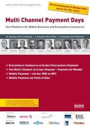 Ihre Plattform für Mobile Business und Everywhere ... - ECC Handel