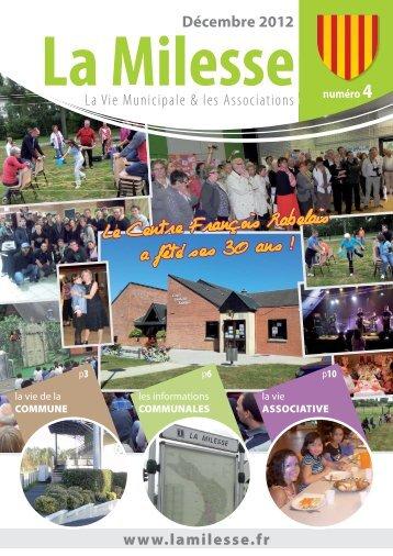 BM La Milesse numéro 4 dec 2012
