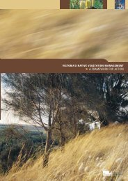 victoria's native vegetation management a framework for action