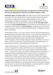 Veolia Verkehr Sachsen-Anhalt gratuliert mit Zugtaufe zum ... - Nasa
