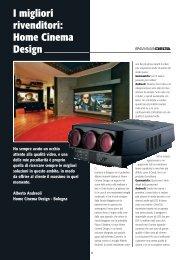 I migliori rivenditori: Home Cinema Design